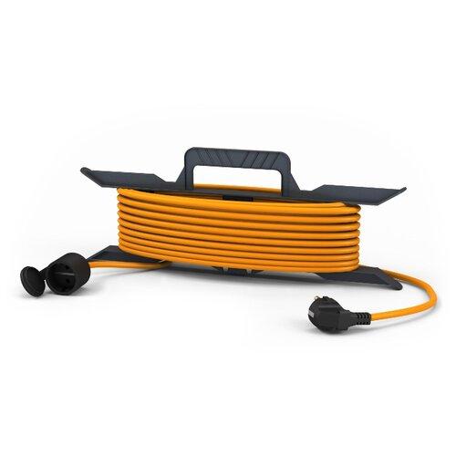 Удлинитель-шнур силовой ПАРТНЕР ЭЛЕКТРО 1 розетка 10м US204B-110OR 10А IP44 с/з