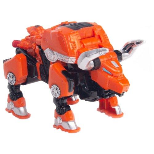 Купить Трансформер YOUNG TOYS Metalions Taurus Mini оранжевый/черный, Роботы и трансформеры