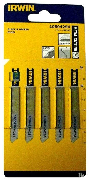 Набор пилок для лобзика Irwin 10504294