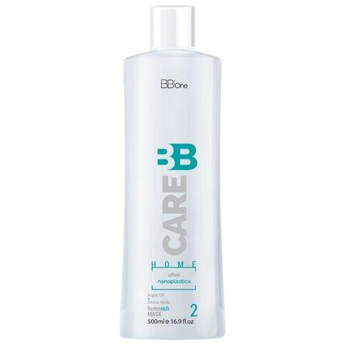 BB One BB Care After Nanoplastica Маска для волос, 500 мл косметический набор для волос bb one ultra liss 360