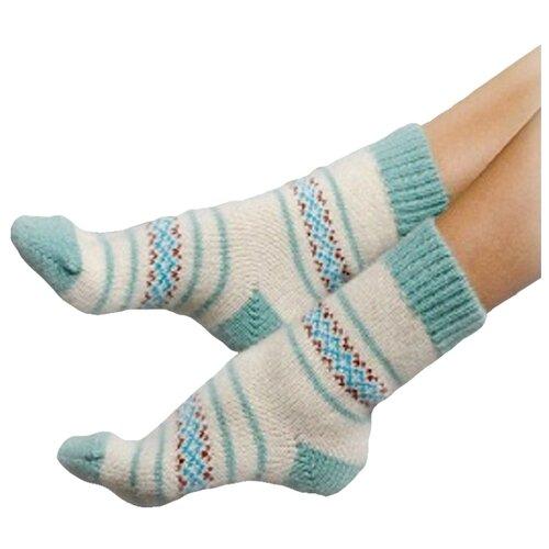 Носки шерстяные Бабушкины носки N1R10-7 размер 35-37