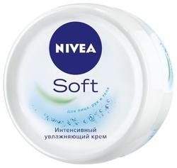 Крем для тела Nivea Soft интенсивный увлажняющий