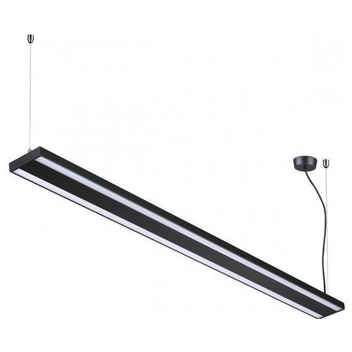 Светильник светодиодный Novotech Iter 358446, LED, 60 Вт встраиваемый светодиодный светильник novotech candi led 357377