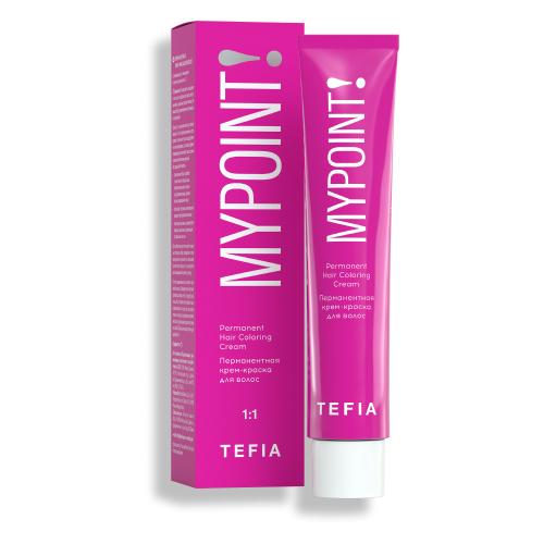 Tefia Mypoint Color перманентная крем-краска для волос, 100 cпециальный блондин натуральный, 60 мл tefia mypoint color перманентная крем краска для волос 100 cпециальный блондин натуральный 60 мл