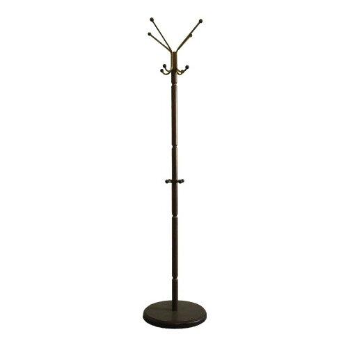 Напольная вешалка Мебелик В 33Н средне-коричневый напольная вешалка мебелик вешалка напольная в 33н