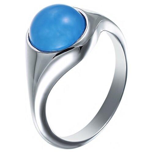 цена на JV Кольцо с 1 халцедоном из серебра C4311R-KO-CH-001-WG, размер 18