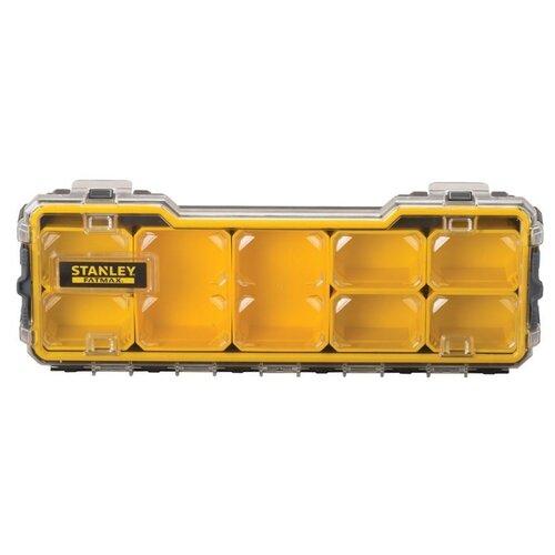 Органайзер STANLEY 1/3 FMST1-75781 Fatmax 43.2x15.2x6.4 см черный/желтый органайзер stanley 1 93 980 36 5x15 5x22 5 см черный