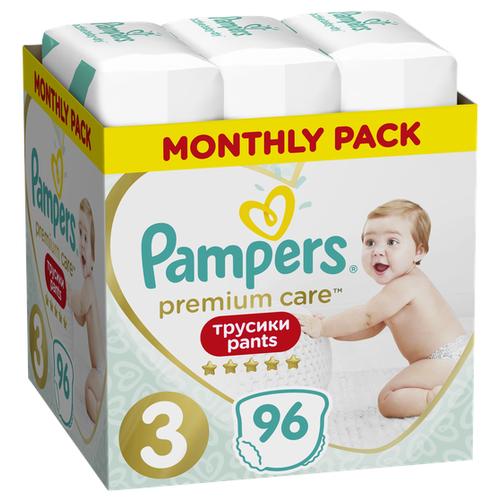 цена на Pampers Premium Care трусики 3 (6-11 кг) 96 шт.