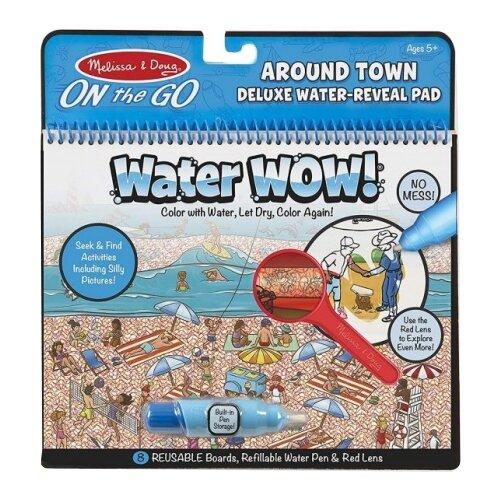 Купить Melissa & Doug Водная раскраска Water Wow! В городе (9457), Раскраски