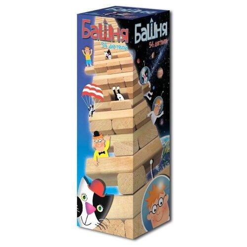 Настольная игра Дрофа-Медиа Башня дрофа медиа фигурная мозаика лошадка 3219