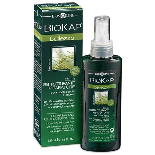 BioKap Масло для поврежденных волос, восстанавливающее структуру, 125 мл