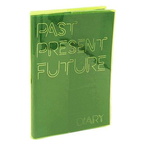 Ежедневник Listoff Paper Art Jelly Book недатированный, А5, 136 листов, безумный салатовый фото