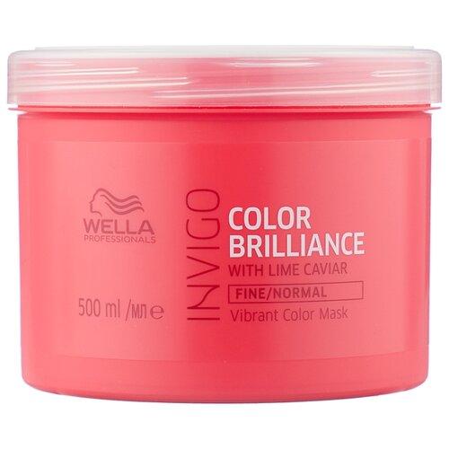 Фото - Wella Professionals INVIGO COLOR BRILLIANCE Маска-уход для защиты цвета тонких и нормальных волос, 500 мл wella professionals invigo color brilliance gift set