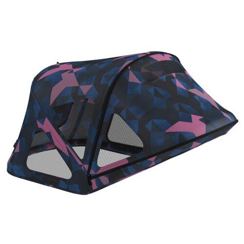 Bugaboo Капюшон от солнца Breezy для коляски Fox/Cameleon 3 Birds фиолетовый/синий автокресло 0 bugaboo turtle by nuna car seat для коляски cameleon 80703zw01 80401mc02