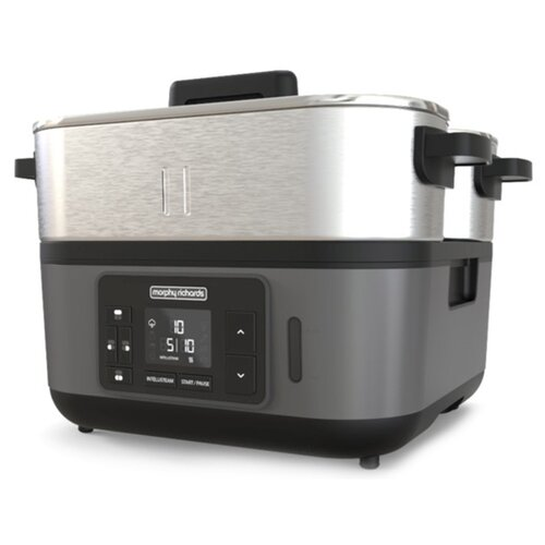 Пароварка Morphy Richards 470006 серебристый