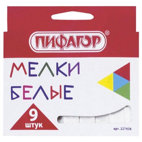 Купить Пифагор Мелки 9 шт (227438), Пастель и мелки