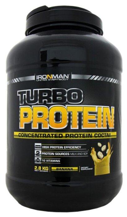 Протеин IRONMAN Turbo Protein (2.8 кг) — купить по выгодной цене на Яндекс.Маркете