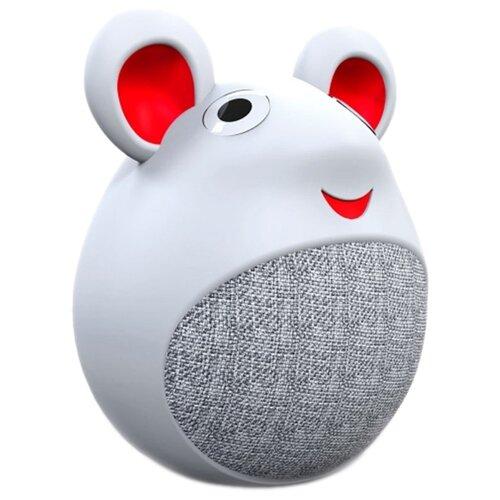 цена на Портативная акустика INTERSTEP SBS-420 Little Mouse белый