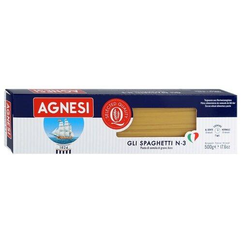 Фото - Agnesi Макароны Gli Spaghetti № 3, 500 г gli psicopatici футболка