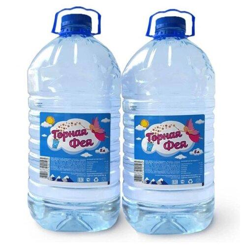 Вода минеральная Горная фея негазированная, пластик, 2 шт. по 5 л истэль вода талая негазированная 12 шт по 0 5 л