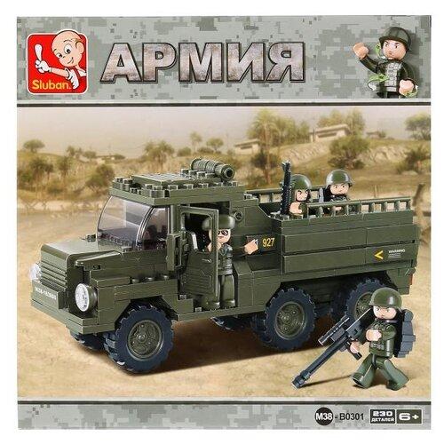 Конструктор SLUBAN Вооруженные силы M38-B0301 конструктор sluban армейский грузовик m38 b0301 230 элементов