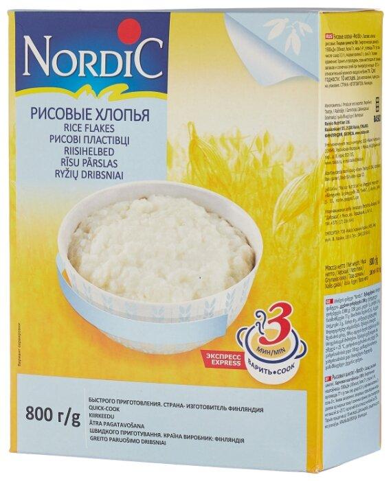 Nordic Хлопья рисовые, 800 г — купить по выгодной цене на Яндекс.Маркете