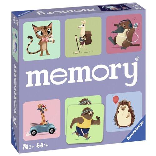 Фото - Настольная игра Ravensburger Мемори Мир животных настольная игра мастер игрушек мемори