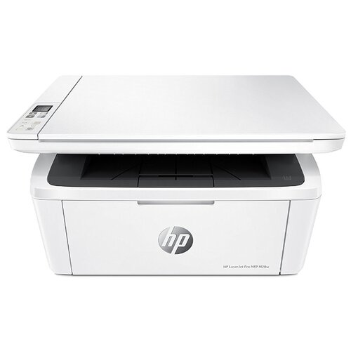 Фото - МФУ HP LaserJet Pro MFP M28w, белый мфу hp laserjet pro m132nw