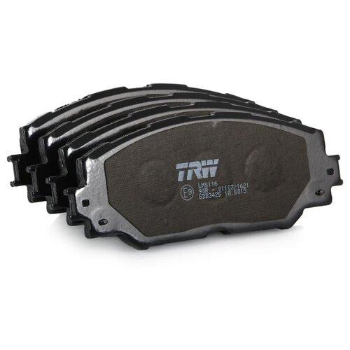 Дисковые тормозные колодки передние TRW GDB3425 для Toyota, Subaru (4 шт.)