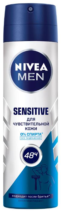 Антиперспирант спрей Nivea Men Sensitive Protect