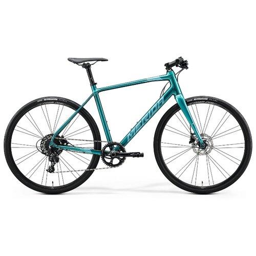 Шоссейный гибрид Merida Speeder Limited (2020) glossy green-blue/teal 50 см (требует финальной сборки)