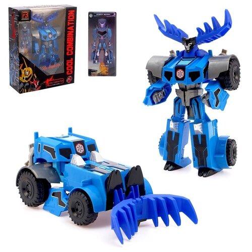 Купить Робот-трансформер Бульдозер 4645986, Сима-ленд, Роботы и трансформеры