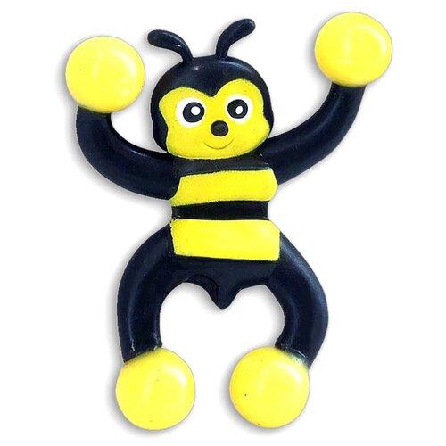 Игрушка-антистресс BONDIBON Пчела (BB4306) черный/желтый