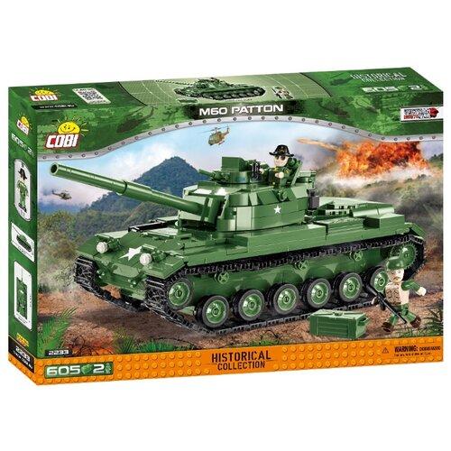 Конструктор Cobi Vietnam War 2233 M60 Patton abx france xea328 maintenance kit o rings only hematology analyzer m60 micros60 abx m60 micros60 es60 new