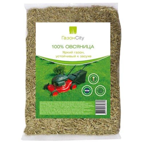 цена на Семена ГазонCity Овсяница 100% Яркий газон, 0.3 кг