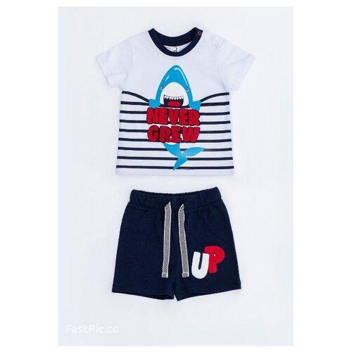 Купить Комплект одежды Pixo размер 92, белый/темно-синий, Комплекты