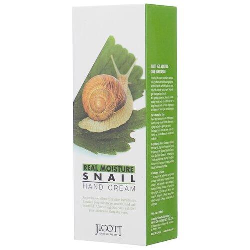 Крем для рук Jigott Real moisture экстрактом слизи улитки 100 мл крем на основе слизи улитки