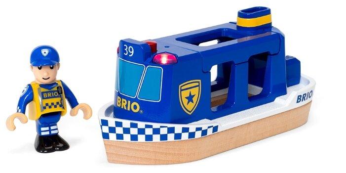 Игровой набор Brio Полицейский катер 33820