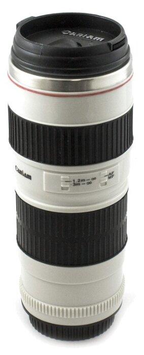 Термокружка Эврика в виде объектива от фотоаппарата (0,35 л)