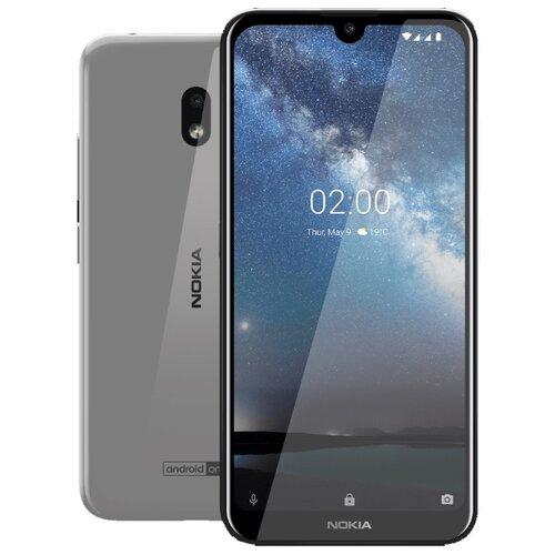 Смартфон Nokia 2.2 16GB стальной смартфон