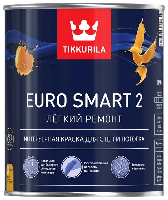 Краска Tikkurila Euro Smart 2 для детской матовая