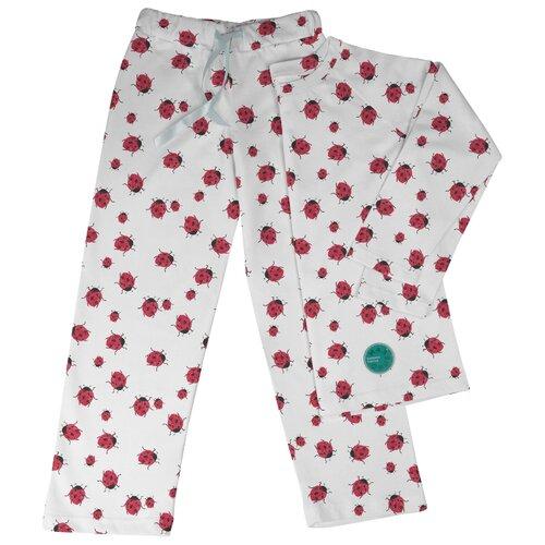 Пижама Marengo Textile размер 134, белый/красный платье oodji ultra цвет красный белый 14001071 13 46148 4512s размер xs 42 170