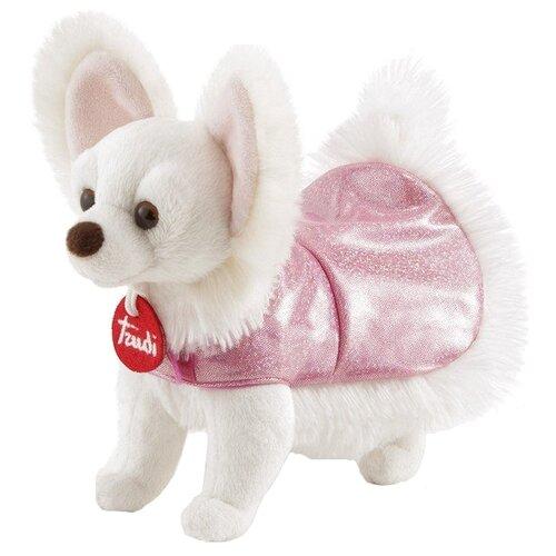 Купить Мягкая игрушка Trudi Чихуахуа в розовом платье 20 см, Мягкие игрушки