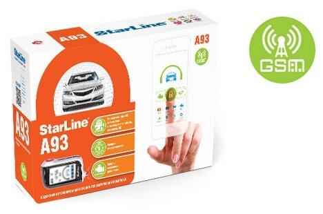 Автосигнализация StarLine A93 (GSM+GPS ECO ЖК брелок)