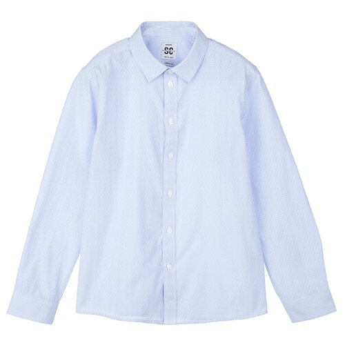 Рубашка playToday размер 122, голубой