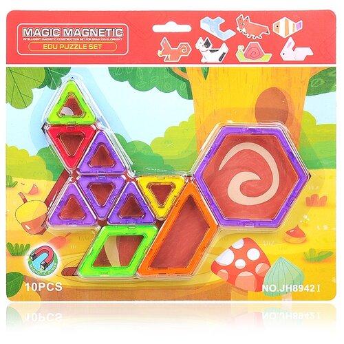 Купить Магнитный конструктор Наша игрушка Magic Magnetic JH8942I, Конструкторы