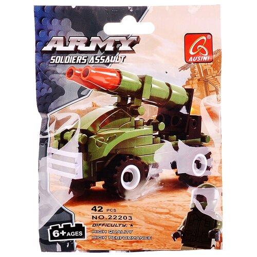 Купить Конструктор Ausini Армия 22203, Конструкторы