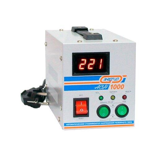 Стабилизатор напряжения однофазный Энергия ACH 1000 белый стабилизатор напряжения exegate ad 1000