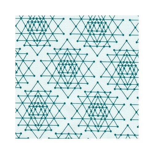 Купить Ткани фасованные PEPPY (P - W) для пэчворка PALM CANYON ФАСОВКА 50 x 55 см 146±5 г/кв.м 100% хлопок AVL-17457-213 TEAL, Robert Kaufman