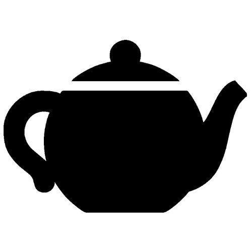 Наклейка Melcom Уютный чайник 03, меловая наклейка melcom уютный чайник 04 меловая